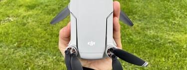El dron DJI Mavic Mini Combo con tres baterías es un regalazo por menos de 400 euros en Amazon, alcanzando su precio mínimo