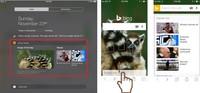 Bing mejora sus aplicaciones de iPhone e iPad e integra alertas AMBER para ayudar a encontrar niños perdidos
