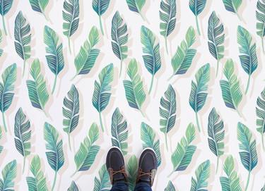 Nueva tendencia de verano: llena de hojas tus suelos para que tu casa parezca una selva tropical