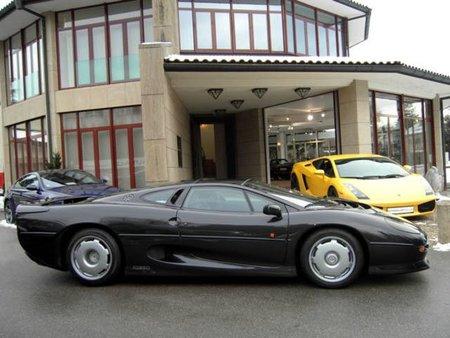 Flavio Briatore pone a la venta su Jaguar XJ220