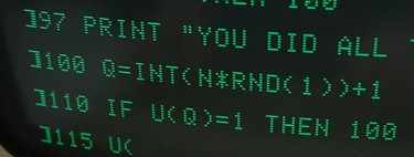 20 GOTO 10: Cuando el código espagueti, las mayúsculas y los números de línea atormentaban a los programadores