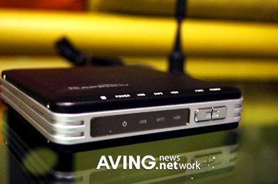 Rapsody, lector de Divx con disco duro y sintonizadora de TV