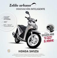 Top box trasero de regalo con la compra de tu Honda Scoopy SH125i ABS
