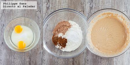 Muffins Choco Moka Receta