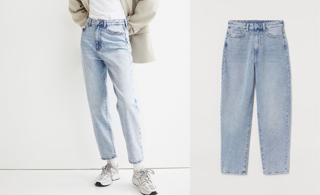 Mom Loose-fit Ultra High Jeans