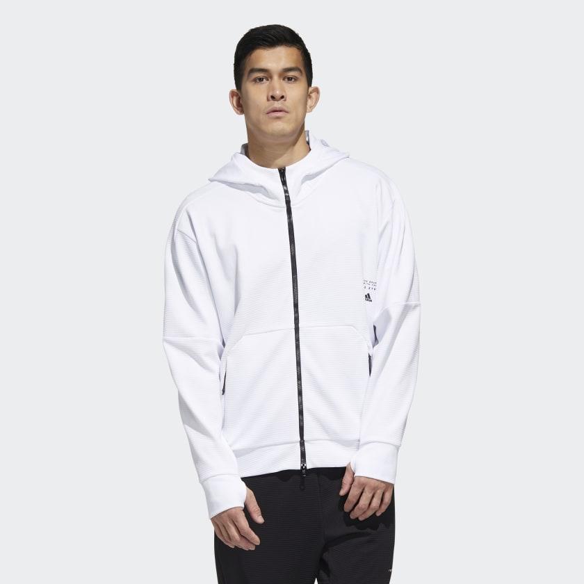 Camiseta con capucha Must Haves Aeroready Fill-Zip