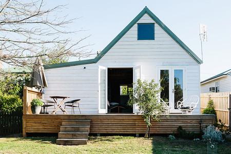 Exterior cabaña australiana