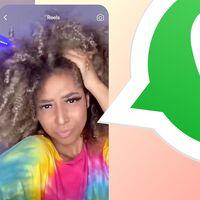 Instagram y WhatsApp se acercan: ya pueden reproducirse los Reels sin salir de WhatsApp