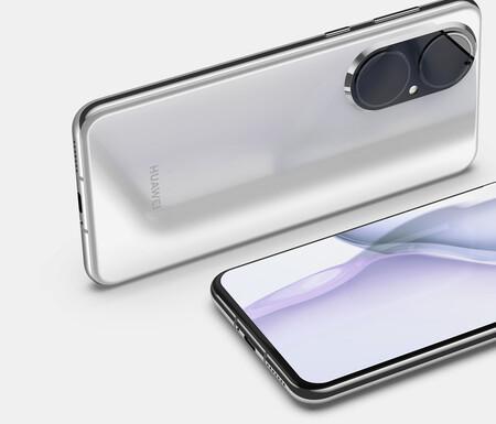 Filtrado el diseño del Huawei P50: módulo gigantesco y pantalla plana
