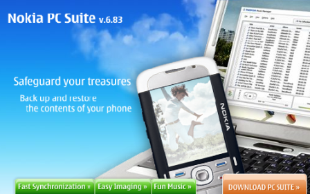 Nokia PC Suite ya para Vista