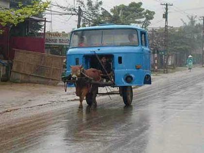 El camión chino menos potente, pero muy ecológico