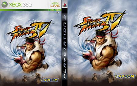Capcom revela la portada de 'Street Fighter IV'