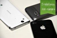 Tres teléfonos que podrían sustituir a nuestra compacta