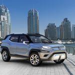 7 plazas y mucha conectividad. Con el XAVL Concept, SsangYong prepara su jugada SUV