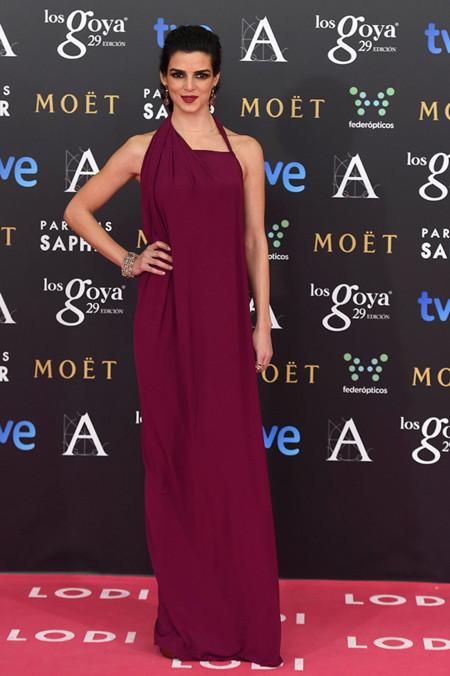 Mariam Bachir en los Premios Goya 2015