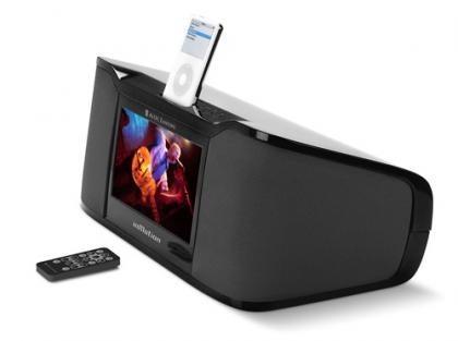Altavoces Altec iMV712 con espectacular pantalla