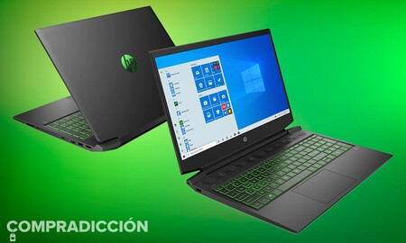 Este portátil gaming de gama media cuesta ahora 100 euros menos en El Corte Inglés: HP Pavilion Gaming 16-a0044ns por 799 euros