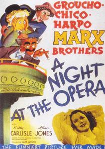 'Una Noche en la Ópera', cosi-cosa, it´s a wonderful world
