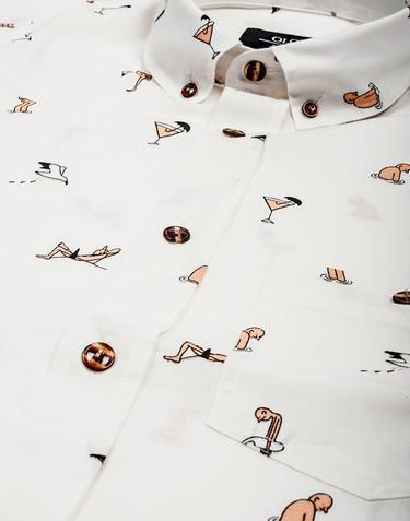 Ríete del verano con la capsule collection de Olow x el ilustrador Jean Jullien