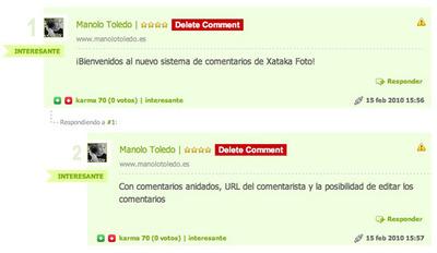 Mejorando el sistema de comentarios en Xataka Foto