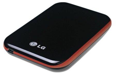 LG HXD5, un disco duro externo, pequeño y con un buen diseño