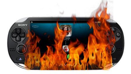 Y mientras tanto en Japón... ¡consolas PS Vita que arden y el gobierno lo investiga!