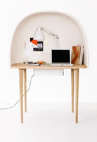 escritorio iglú