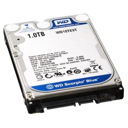 Disco de Western Digital de 2.5 pulgadas y 1 TB de capacidad