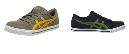 Por 32,45 euros tenemos varias zapatillas Asicas Aaron en diferentes colores y tallas en Amazon
