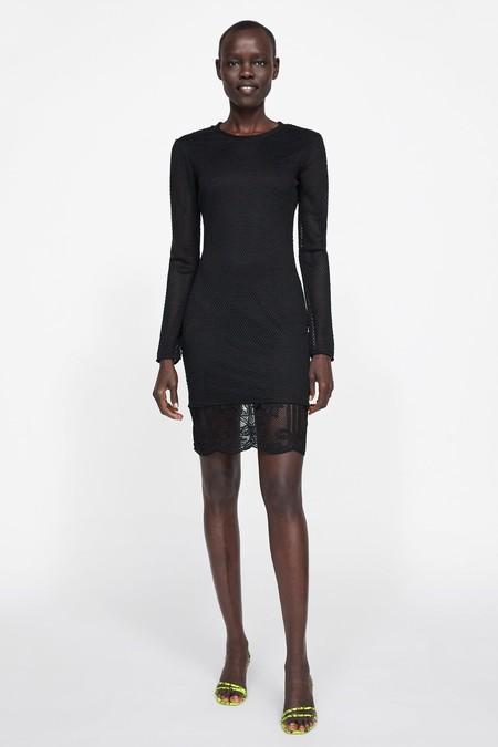 Vestido Negro Zara 5