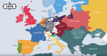 Mapa 1676
