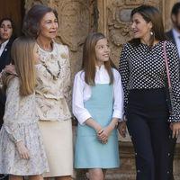El vídeo de la reina Letizia y la reina Sofía del que todo el mundo habla (y nadie sabe lo que ha pasado)