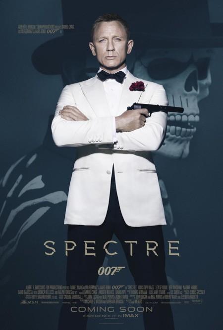El póster de Spectre a tamaño completo