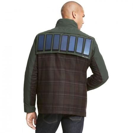Tommy Hilfigers Solar Powered Jacket