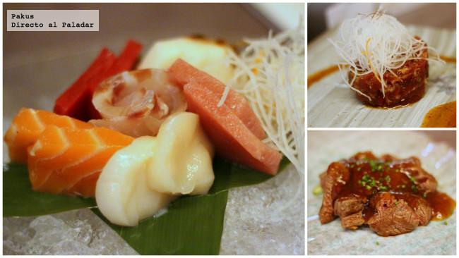 primeros platos de Fuku