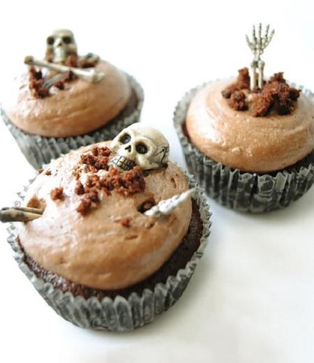 Los mejores 12 cupcakes de Halloween