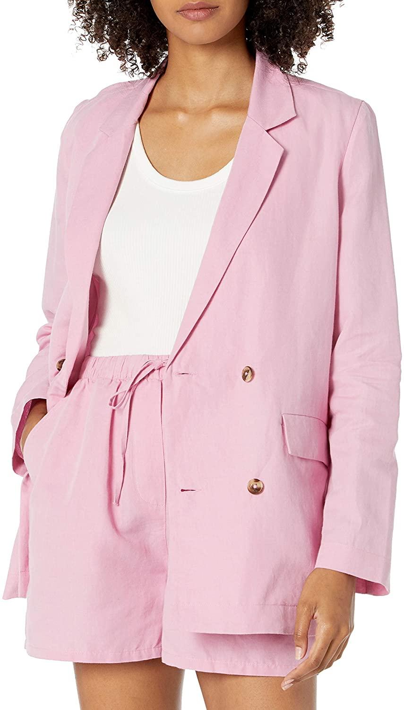 The Drop Irene Blazer Suelto Cruzado Blazers-and-Sports-Jackets Mujer