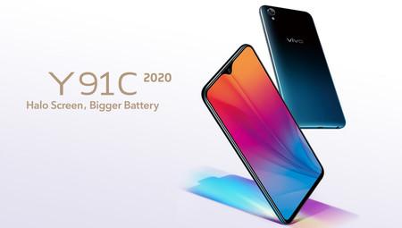 Vivo Y91C 2020: prestaciones de antaño en un móvil básico que apuesta por la autonomía