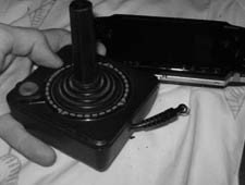 Joystick del Atari 2600 como batería para tu PSP