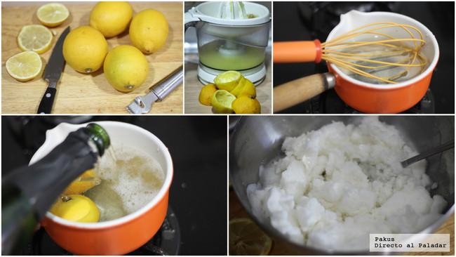 Sorbete limon cava directo al paladar - Como hacer sorbete de cava ...