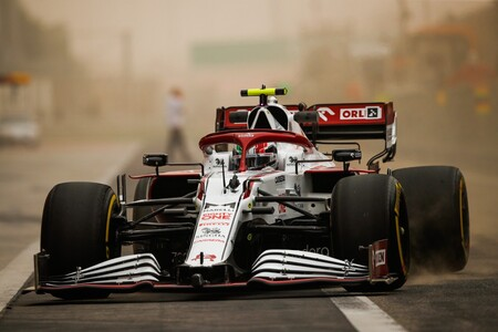 Giovinazzi Sakhir F1 2021