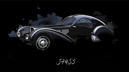 Bugatti 57453 La Voiture Noire