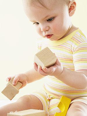 La forma de jugar del bebé, un indicio de autismo