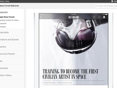 Apple lanza documentación para ayudar a los gestores de contenido a preparar sus noticias para News