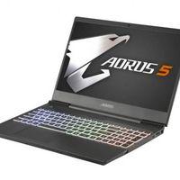 ¡Chollazo! 470 euros menos y envío gratis en el potente portátil gaming Gigabyte Aorus 5 si lo compras ahora en PcComponentes