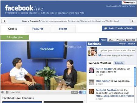 Facebook Live: la red social lanza su servicio de livestreaming
