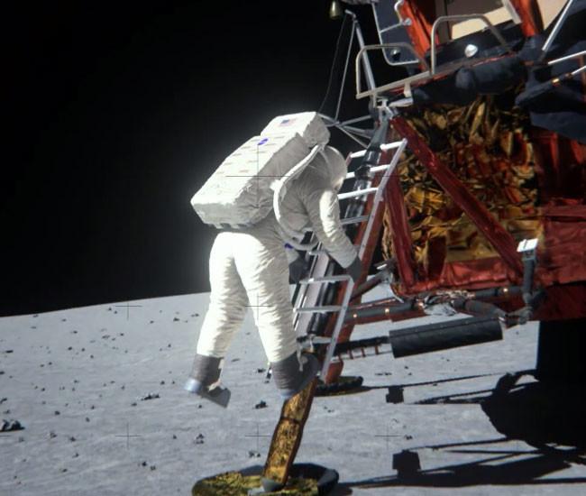 El 'otro' alunizaje del Apolo 11, la imagen de la semana