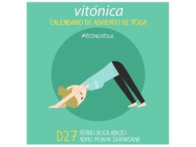 El calendario de adviento de Yoga de Vitónica: un nuevo reto antes de la Navidad