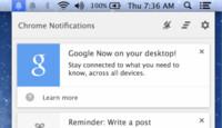"""Las """"cartas"""" de Google Now aterrizan oficialmente en OS X"""