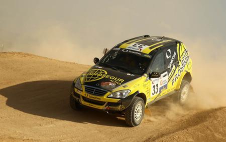 SsangYong no participará en el Dakar 2010